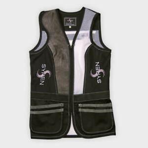 Syren Italian Caesar Guerini Fabarm Shooting Vest Right Handed Womens M $165 NWT