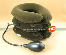 Cervical Air Neck Traction Headache 3 Three Layer B02-1 Portable TracCollar