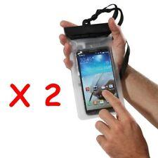 Lot 2 Housses étanche iPhone Apple,Samsung, LG, Sony, Wiko, Huawei ,Nokia: noir