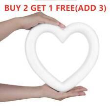 DIY White Foam Heart-shaped Polystyrene Styrofoam Modelling Craft Gift