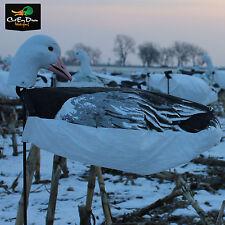 New White Rock Decoy Company Headed Blue Goose Wind Sock Hunting Decoys 1 Dozen
