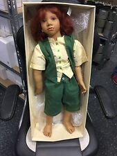 "Annette Himstedt Puppe "" Melvin "" 75 cm. Top Zustand"