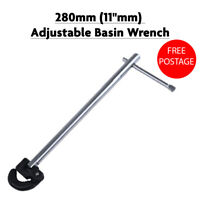 "VOCHE® PLUMBERS 11/"" ADJUSTABLE TAP NUT SPANNER /& 13//19mm FIXED BASIN WRENCH"
