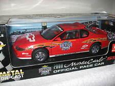 1999 2000 MONTE CARLO BRICKYARD 400 PACE CAR 1:18 METAL DIE-CAST CAR SUN STAR