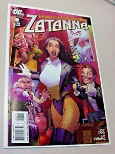 Zatanna #8 DC Comics 2011 High Grade Beauty