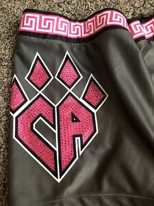 NWOT Gray & Pink  Rebel Cheer Athletics Practice Wear Bottoms/AL/adult Large