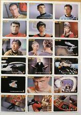Star Trek TOS 40th Anniversary Base Set #1-110 Plus Bonus Error Card #58