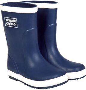 Jojo Maman Bebe Navy Blue Splash Wellies - Size 5 Infant  RRP £17  (Box 3)