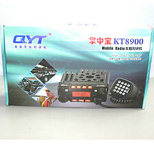 QYT KT8900 Mini Mobile Radio Transceiver 136-174/400-480 With Programming Cable