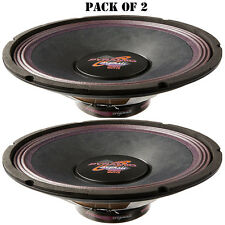 """Pair of New Pyramid WH1238 12"""" 400 Watt High Power Paper Cone 8 Ohm Subwoofer"""