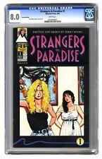 Strangers in Paradise #1 CGC 8.0 1994 2nd Print