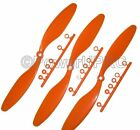 3x Propeller 8x4.3 Slow Fly Orange 8043 203x109mm Yak, Extra GWS Crack Yak