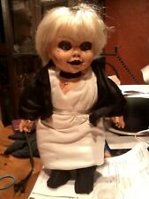 "TIFFANY BRIDE OF CHUCKY DOLL CHILDS PLAY RUBBER  FACE DOLL 16"" ZOMBIE PROP"