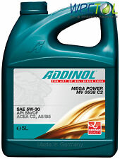 Addinol MEGA POWER MV 0538 5W30 Motoröl 5W-30 C2 1 x 5 Liter