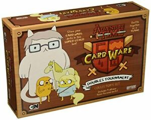 Cryptozoic Entertainment Adventure Time Card Wars Doubles Tournament Card Game