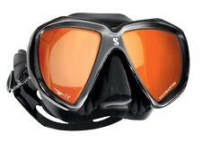 Scubapro Espectros Espejo Máscara de buceo Naranja espejado Gafas