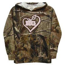 Realtree Girl Camo PInk Hoodie, Youth Kid's Hoodied Sweatshirt