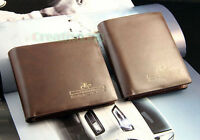 Fashion Men's PU Leather Bifold Wallet Pockets Credit Card Clutch Coin Purse New