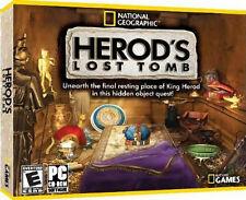 Nat Geo Herod's Lost Tomb ( PC GAME ) NEW SEALED J/C