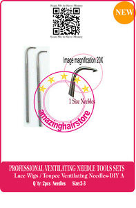 Ventilating Needle Repair/Making Full Lace Front Wig/Toupee/Hairpiece-DIY A-2PCS