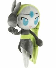 "POKEMON TOMY MYTHICAL MELOETTA PLUSH VELVET TOY 8"" SIZE - RARE 20TH ANNIVERSARY"