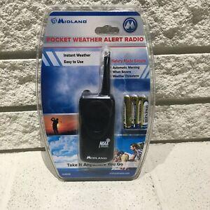 Midland HH50B Pocket Weather Alert Radio 7 Preset Weather Channel