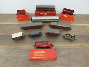 Hornby/Triang Coaches and Wagons Horse Box Some Boxed Texaco Passenger