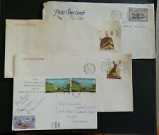 GB GREAT BRITAIN 1977 FDC WWF HEDGEHOG, HARE, plus Xmas 1979  & 1 from Guernsey.