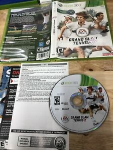 Grand Slam Tennis 2 Microsoft Xbox 360 2012 Complete
