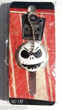 NEW Nightmare Before Christmas Jack Face Key Cap PVC Key Holder