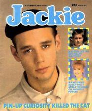 JACKIE MAGAZINE #1210 CURIOSITY KILLED THE CAT COLOUR POSTER, A-HA'S PAL