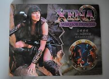 XENA WARRIOR PRINCESS VINTAGE 1999 16 MONTH COLLECTORS CALENDAR