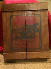 "Vintage Pepsi Cola Wooden Crate Cabinet 18""x15.5""x4"""