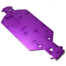 04001P Alloy Purple Chassis Plate - Brontosaurus HSP Hi Speed Parts