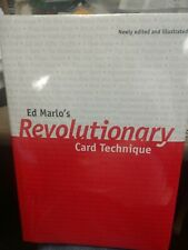 Marlo Ed REVOLUTIONARY CARD TECHNIQUE HC DJ Book