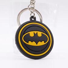 NEW Batman double sideds Soft Rubber Keyring Keychain