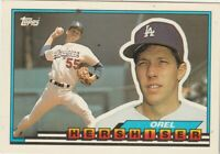 FREE SHIPPING-MINT-1989 Topps #1 Orel Hershiser Los Angeles Dodgers +BONUS CARDS