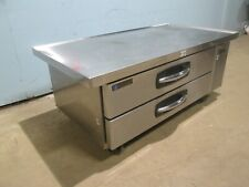 """""""Master Bilt Cb60"""" Hd Commercial Ss (Nsf)- 60""""W Refrigerated 2 Drawers Chef-Base"""