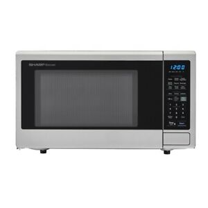 Sharp Carousel 1.4 cu. ft. Countertop Microwave - Stainless Steel (PG-92068-S...