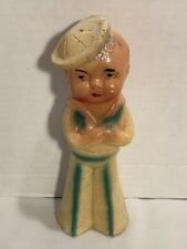 Vintage 1950's Carnival Chalkware Navy Sailor Figure Circus Midway Prize 8 1/2�