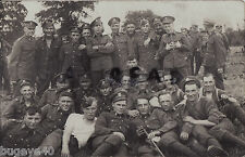 Soldier Group NCOs & Men Somerset Light Infantry  on manoeuvres