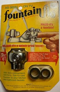 VINTAGE FOUNTAIN FLO FAUCET FOUNTAIN - AS SEEN ON TV - New Old Stock
