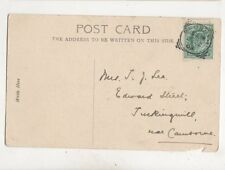 Redruth 22 Jul 1903 Squared Circle Postmark 405b