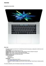 Apple MacBook Pro 15-inch 2019 Technician Service Guide