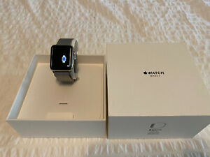 Apple Watch Series 3 42mm Stainless Steel Case with Milanese Loop (GPS +...