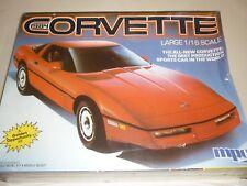 Un Vintage, MPC Ertl sin abrir/Kit de plástico hecha de las Naciones Unidas de un 1988 Chevrolet Corvette