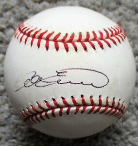 ADAM EVERETT Signed Rawlings MLB Baseball - HOUSTON ASTROS, NEW ORLEANS ZEPHYRS