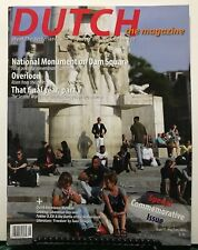 Dutch Magazine National Monument On Dam Square May/June 2015 FREE SHIPPING JB