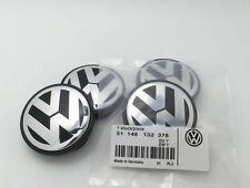 4Pc VW Genuine Wheel center cap hubcap Logo For Golf Jetta Beetle 56mm
