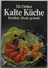 Dr. Oetker Kochbuch - Kalte Küche